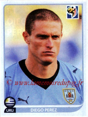 2010 - Panini FIFA World Cup South Africa Stickers - N° 081 - Diego PEREZ (Uruguay)