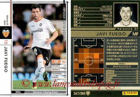 2013-14 - WCCF - N° 267 - Javi FUEGO (FC Valence)
