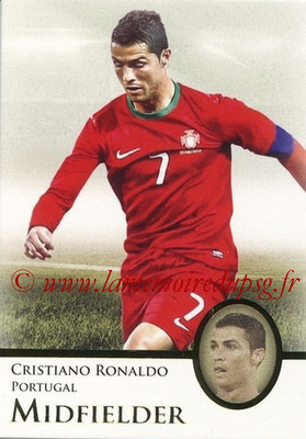 2013 - Futera World Football Unique - N° 128 - Cristiano RONALDO (Portugal) (Midfielder) (Master)