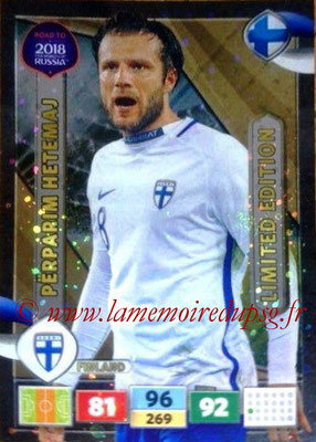 2018 - Panini Road to FIFA World Cup Russia Adrenalyn XL - N° LE-PH - Perparim HETEMAJ (Finlande) (Limited Edition)