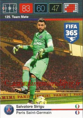 N° 125 - Salvatore SIRIGU (Team Mate)