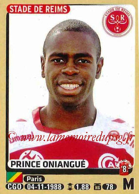 2015-16 - Panini Ligue 1 Stickers - N° 376 - Prince ONIANGUE (Stade de Reims)