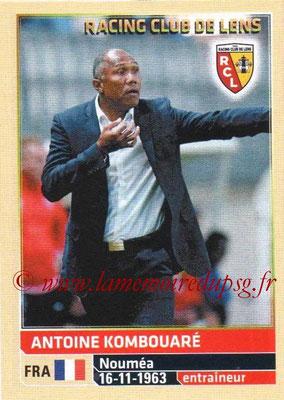 N° 124 - Antoine KOMBOUARE (1990-95, PSG > 1999-03, Entraîneur réserve PSG > 2009-Déc 11, Entraîneur PSG > 2014-15, Entraîneur Lens)