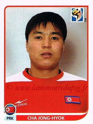 2010 - Panini FIFA World Cup South Africa Stickers - N° 509 - Cha JONG-HYOK (Corée du Nord)