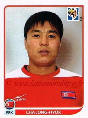 2010 - Panini FIFA World Cup South Africa Stickers - N° 509 - Cha JONG-HYOK (Corée du Nord)