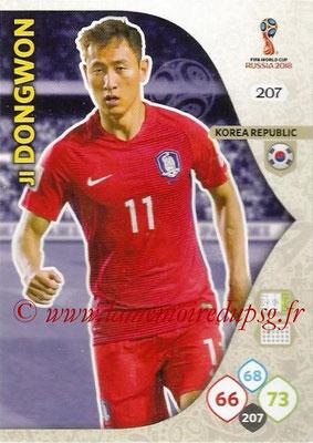 2018 - Panini FIFA World Cup Russia Adrenalyn XL - N° 207 - Ji DONG-WON (Corée du Sud)