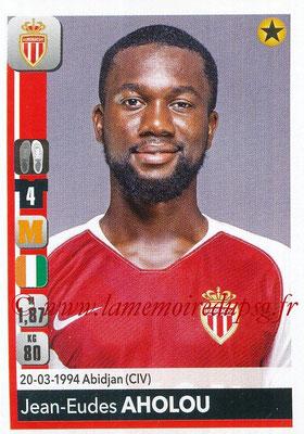 2018-19 - Panini Ligue 1 Stickers - N° 236 - Jean-Eudes AHOLOU (Monaco)