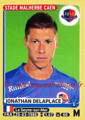 2015-16 - Panini Ligue 1 Stickers - N° 112 - Jonathan DELAPLACE (SM Caen)
