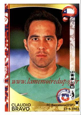 Panini Copa America Centenario USA 2016 Stickers - N° 329 - Claudio BRAVO (Chili)