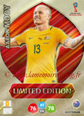 2018 - Panini FIFA World Cup Russia Adrenalyn XL - N° LE-AMO - Aaron MOOY (Australie) (Limited Edition)