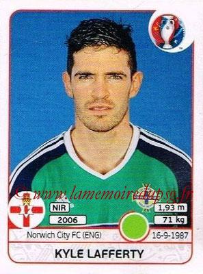 Panini Euro 2016 Stickers - N° 344 - Kyle LAFFERTY (Irlande du Nord)