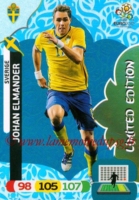 Panini Euro 2012 Cards Adrenalyn XL - N° LE50 - Johan ELMANDER (Suède) (Limited Edition)