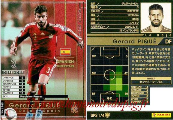 2015-16 - Panini WCCF - N° SPS1 - Gerard PIQUE (Espagne) (Spanish Superstars)