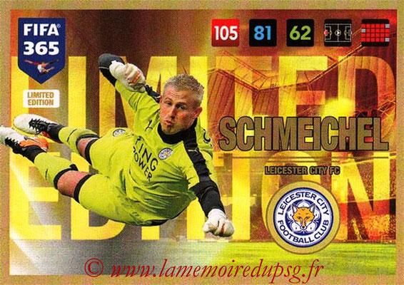2016-17 - Panini Adrenalyn XL FIFA 365 - N° LE07 - Kasper SCHMEICHEL (Leicester City FC) (Limited Edition)