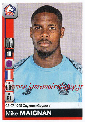 2018-19 - Panini Ligue 1 Stickers - N° 152 - Mike MAIGNAN (Lille)