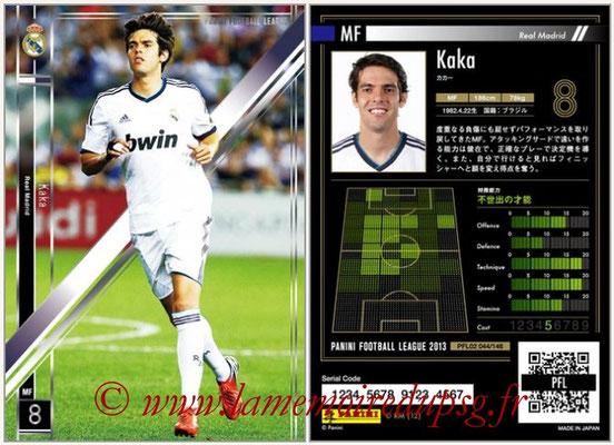 Panini Football League 2013 - PFL02 - N° 044 - Kaka ( Real Madrid )