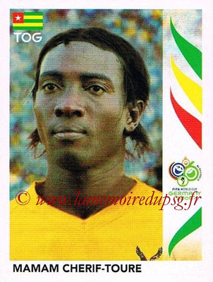 2006 - Panini FIFA World Cup Germany Stickers - N° 522 - Mamam CHERIF-TOURE (Togo)