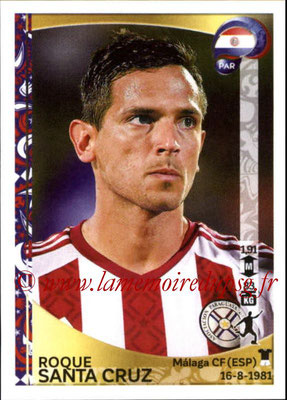 Panini Copa America Centenario USA 2016 Stickers - N° 105 - Roque SANTA CRUZ (Paraguay)