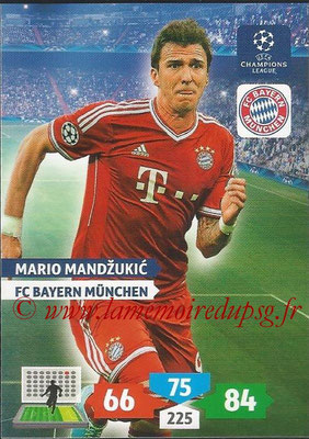 2013-14 - Adrenalyn XL champions League N° 090 - Mario MANDZUNIC (FC Bayern Munich)