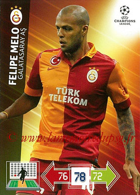 2012-13 - Adrenalyn XL champions League N° 104 - Felipe MELO (Galatasaray AS)