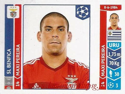 2014-15 - Panini Champions League N° 182 - Maxi PEREIRA (SL Benfica)