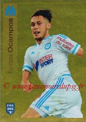 2015-16 - Panini FIFA 365 Stickers - N° 419 -  Lucas OCAMPOS (Olympique de Marseille)
