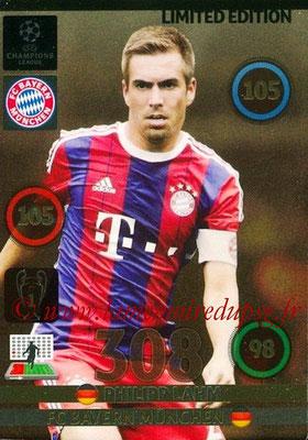 2014-15 - Adrenalyn XL champions League N° LE-PL - Philipp LAHM (Bayern Munich) (Limited Edition)