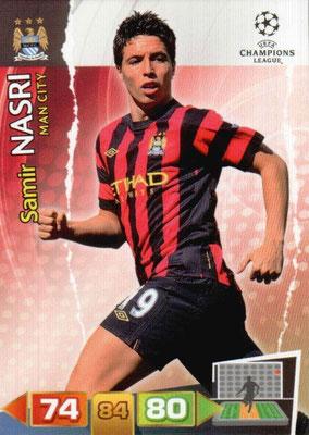 2011-12 - Panini Champions League Cards - N° 137 - Samir NASRI (Manchester City FC)