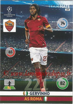 2014-15 - Adrenalyn XL champions League N° 220 - GERVINHO (AS Roma)