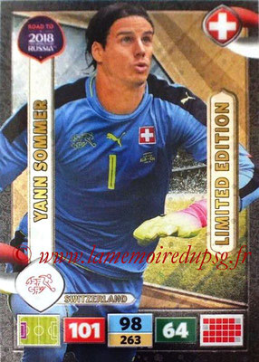 2018 - Panini Road to FIFA World Cup Russia Adrenalyn XL - N° LE-YS - Yann SOMMER (Suisse) (Limited Edition)