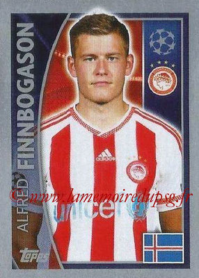 2015-16 - Topps UEFA Champions League Stickers - N° 419 - Alfred FINNBOGASON (Olympiacos FC)