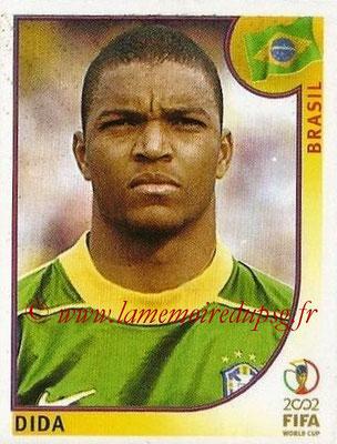 2002 - Panini FIFA World Cup Stickers - N° 171 - DIDA (Brésil)