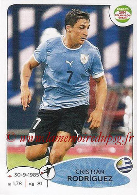 2014 - Panini Road to FIFA World Cup Brazil Stickers - N° 088 - Cristian RODRIGUEZ (Uruguay)