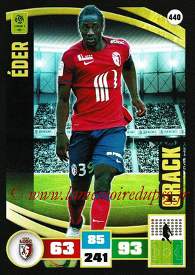 2016-17 - Panini Adrenalyn XL Ligue 1 - N° 440 - EDER (Lille) (Crack)
