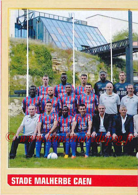 2014-15 - Panini Ligue 1 Stickers - N° 050 - Équipe SM Caen