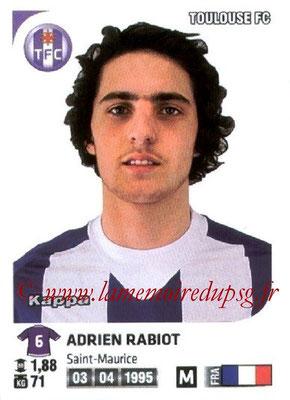 N° M45 - Adrien RABIOT (2012-13, PSG > Jan 2013, Prêt à Toulouse)