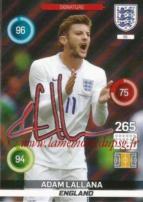 Panini England 2016 Adrenalyn XL - N° 085