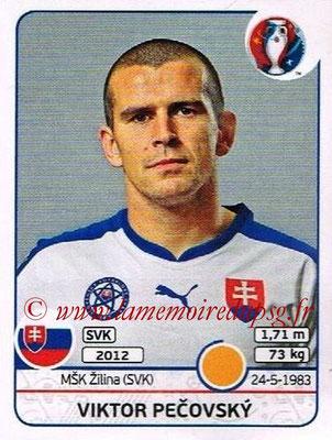 Panini Euro 2016 Stickers - N° 220 - Viktor PECOVSKY (Slovénie)