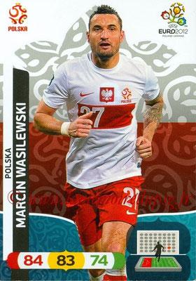 Panini Euro 2012 Cards Adrenalyn XL - N° 156 - Marcin WASILEWSKI (Pologne)