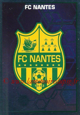 2017-18 - Panini Ligue 1 Stickers - N° 333 - Ecusson Nantes