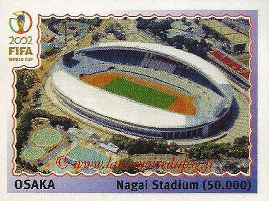 2002 - Panini FIFA World Cup Stickers - N° 021 - Stade Osaka (Nagai Stadium)