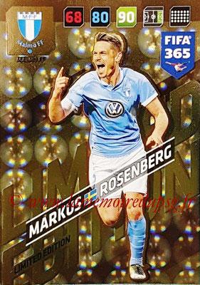 2017-18 - Panini FIFA 365 Cards - N° LE-MR - Markus ROSENBERG (Malmö FF) (Limited Edition)