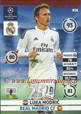 2014-15 - Adrenalyn XL champions League N° 323 - Luka MODRIC (Real Madrid FC) (Key Player)