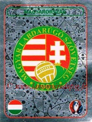Panini Euro 2016 Stickers - N° 576 - Logo Hongrie