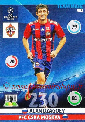 2014-15 - Adrenalyn XL champions League N° 129 - Alan DZAGOEV (PFC CSKA Moscou)