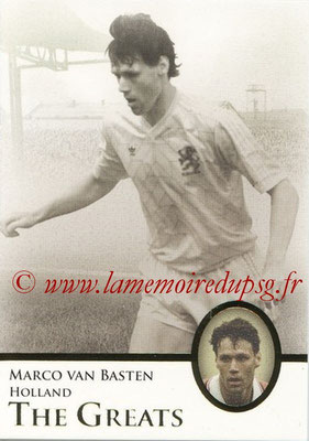 2013 - Futera World Football Unique - N° 118 - Marco VAN BASTEN (Pays-Bas) (The Greats)