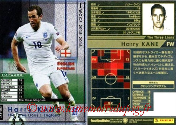2015-16 - Panini WCCF - N° ENS-EXT1 - Harry KANE (Angleterre) (England Superstars) (Extra)