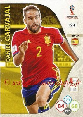 2018 - Panini FIFA World Cup Russia Adrenalyn XL - N° 124 - Daniel CARVAJAL (Espagne)