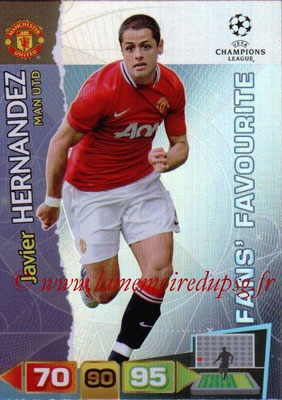 2011-12 - Panini Champions League Cards - N° 312 - Javier HERNANDEZ (Manchester United FC) (Fans' Favourite)