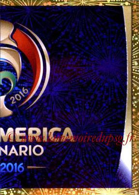 Panini Copa America Centenario USA 2016 Stickers - N° 002 - Logo officiel 2